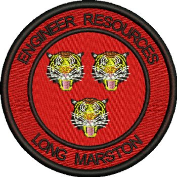 ENGINEER RESOURCES EMBROIDERED BADGE